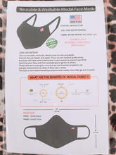Modal Face Mask - Black or White
