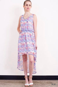 Cotton Candy Hi Lo Dress