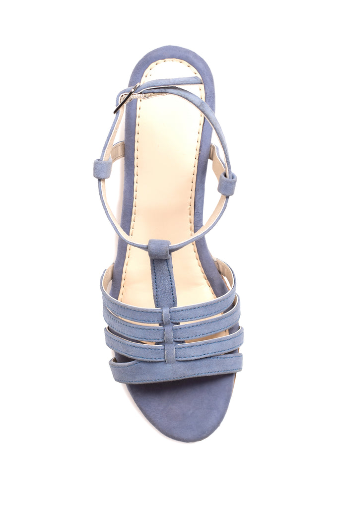 Pale Blue Wedge
