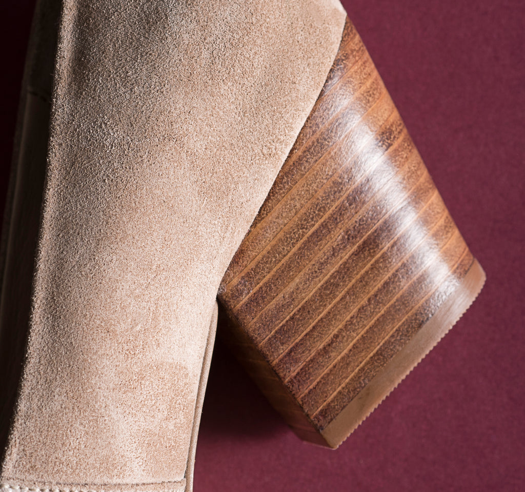 The Nude Block Heel Pump - www.burloe.com