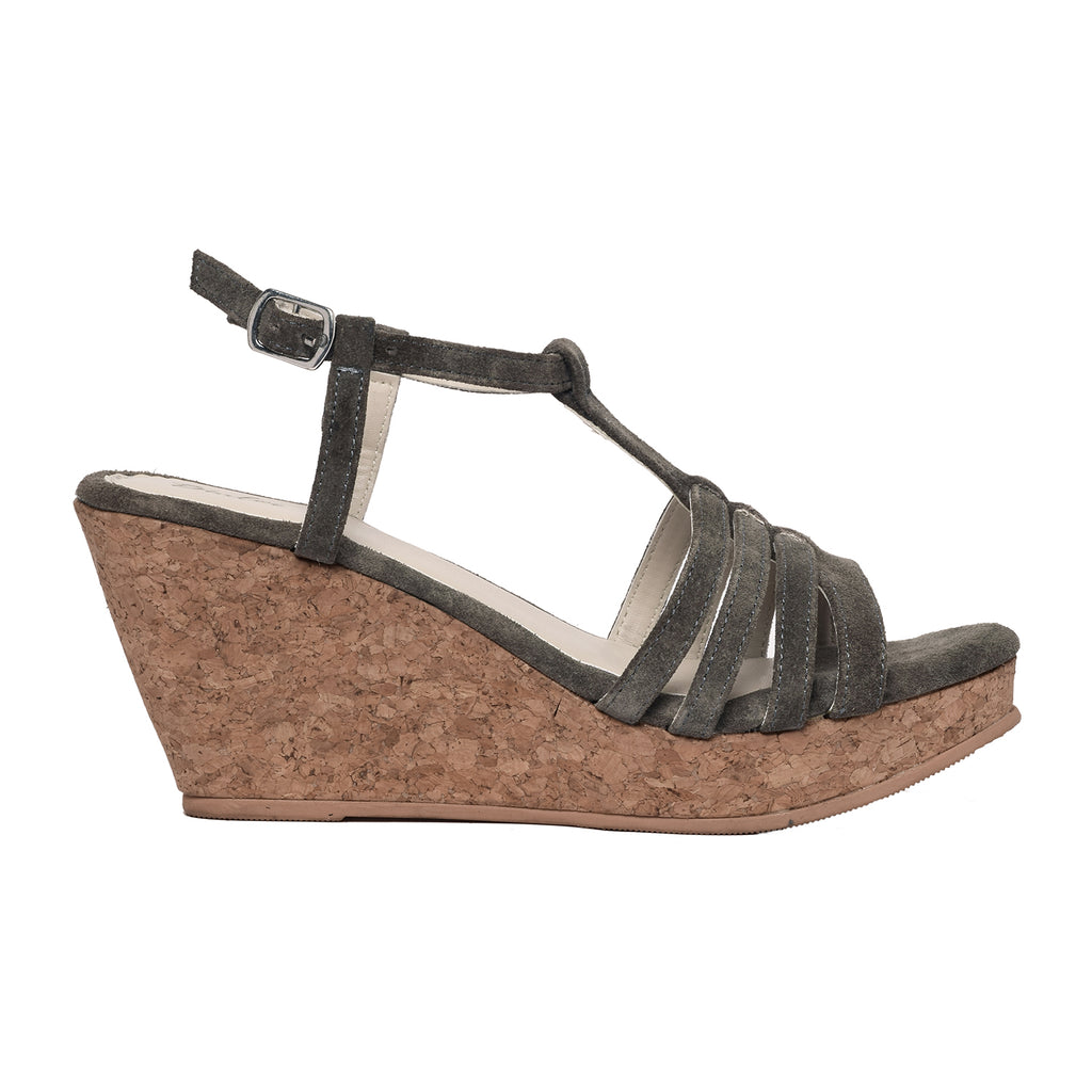 Army Green Wedge