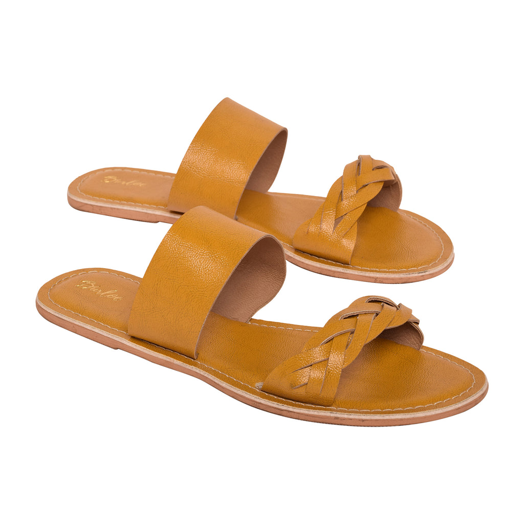 Honey Mustard Slide Flat