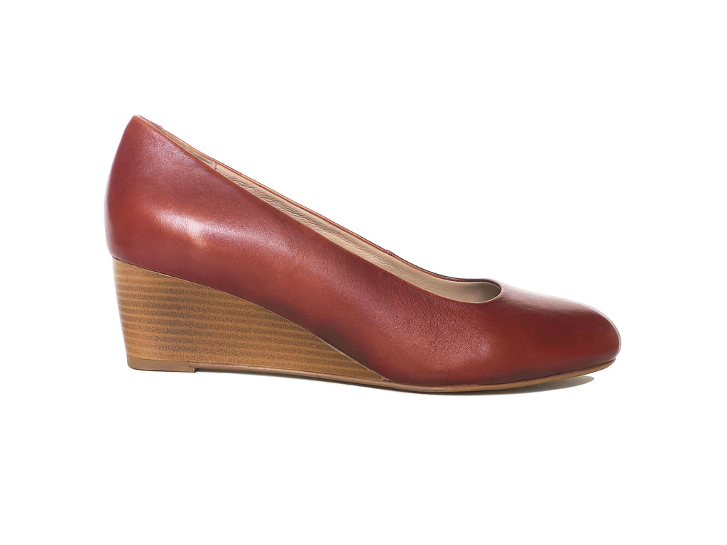 The Tan Work Wedge - www.burloe.com