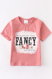 Children's Here's Your One Chance Fancy Floral Top