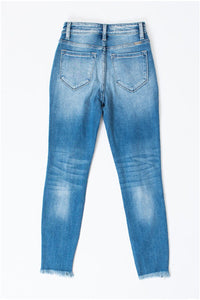 Kan Can Tatum High Rise Distressed Jeans