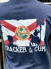 Load image into Gallery viewer, Cracker & Cur The Okeechobee-Navy