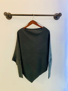 Softest Top Ever - Charcoal Long Sleeve