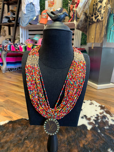 Keep It Gypsy Fiesta Necklace w/ LV