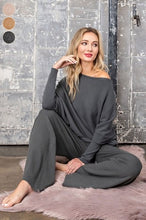 Load image into Gallery viewer, Softest Top Ever - Charcoal Long Sleeve