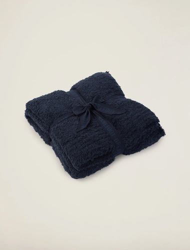 Barefoot Dreams CozyChic® Ribbed Throw - Indigo