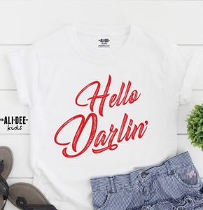 Hello Darlin' Kids Tee
