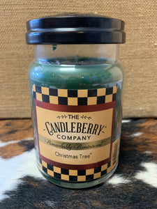 Candleberry Christmas Tree Large Jar