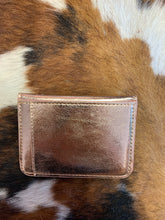 Load image into Gallery viewer, Keep It Gypsy Rose Gold Credit Card Wallet w/ LV