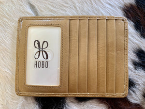 Hobo The Euroslide Wallet- Cedar