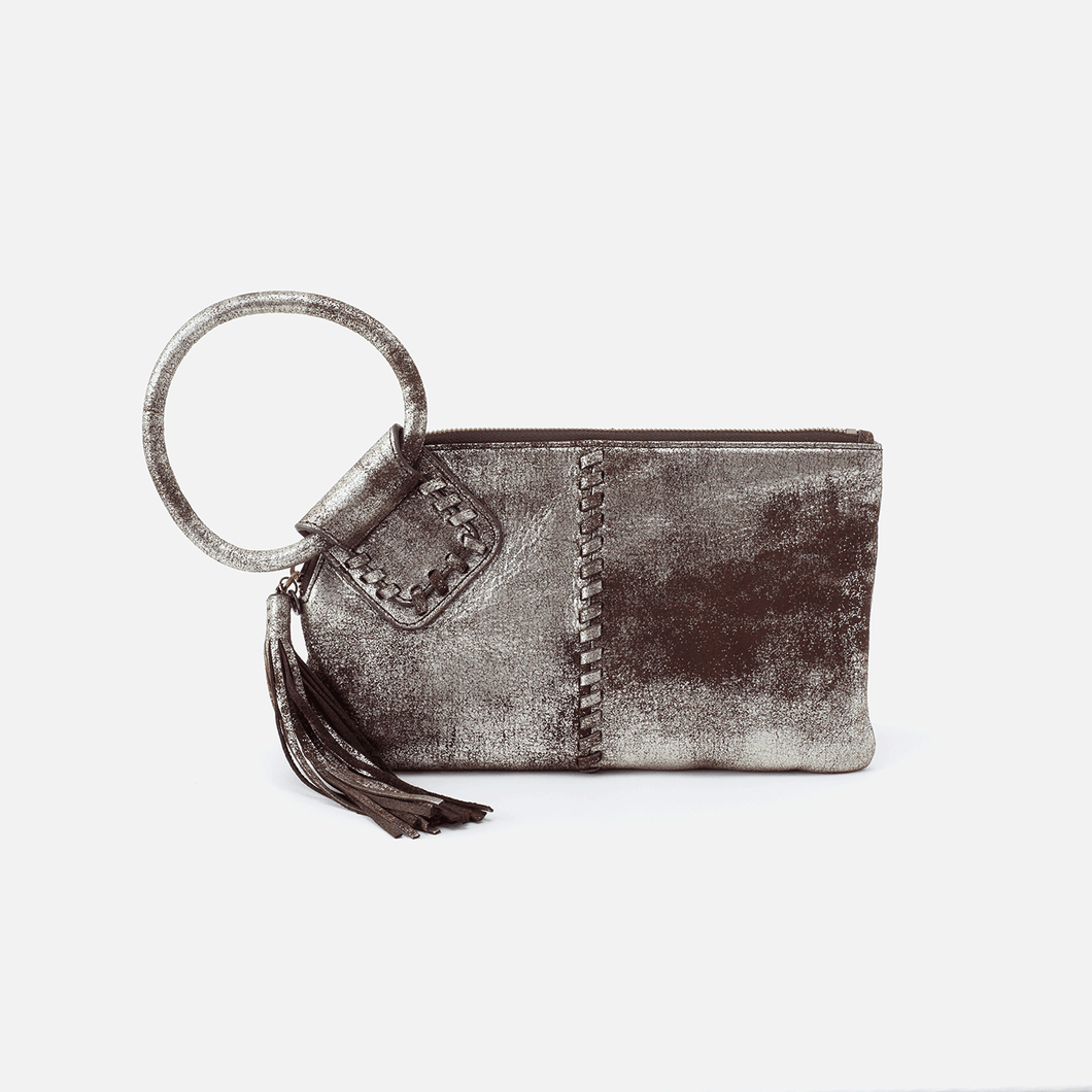 HOBO Sable Heavy Metal Wristlet