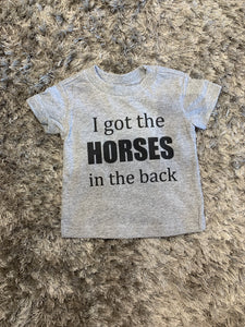 Horses in the Back Children's T-Shirt