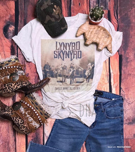 Sweet Home Alabama Lynyrd Skynyrd Graphic Tee