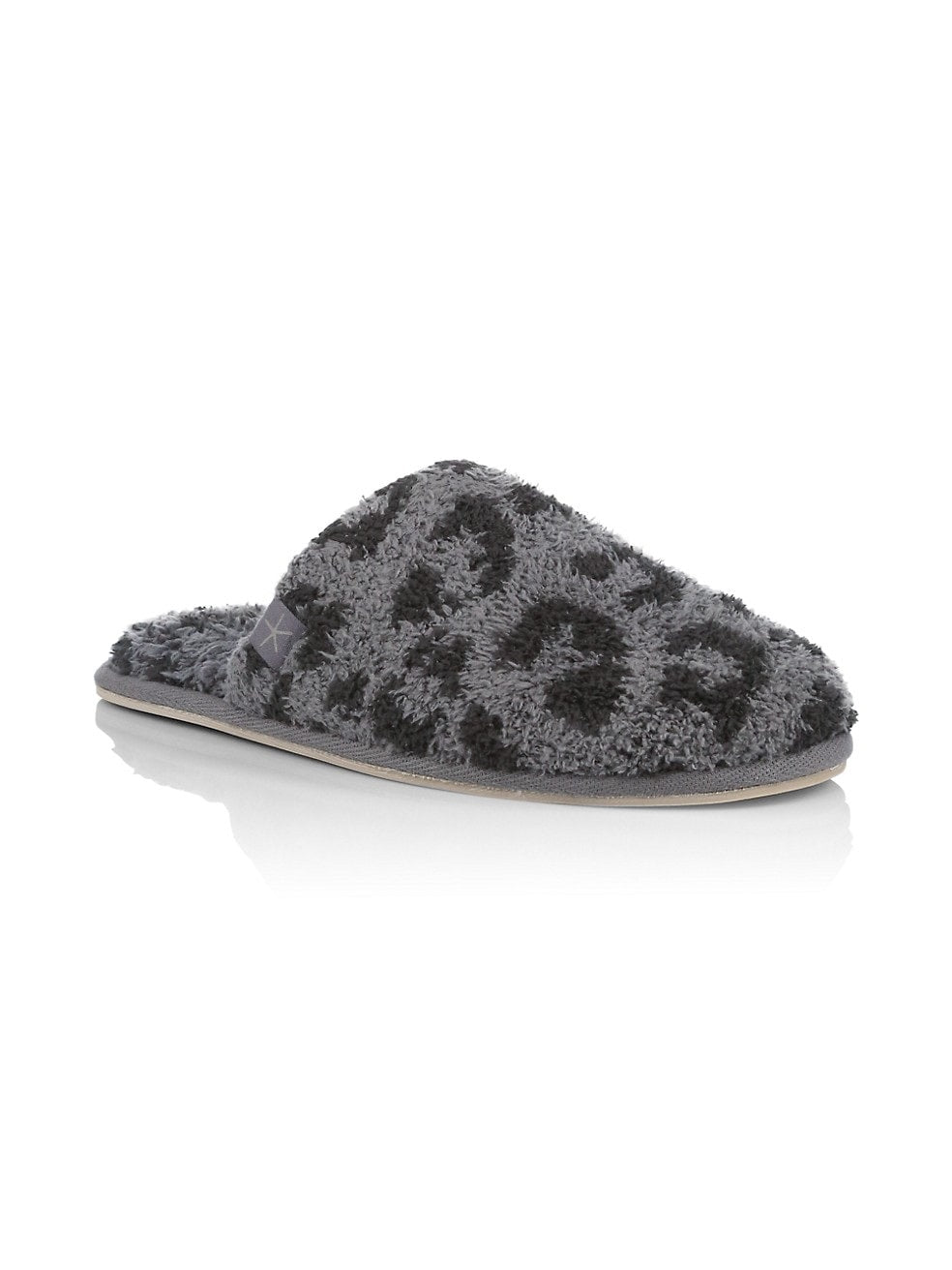 CozyChic® Barefoot in the Wild® SlippersColor Graphite - Carbon