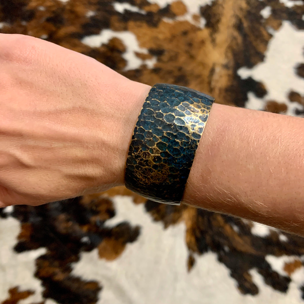 RK Teal Speckled Cuff