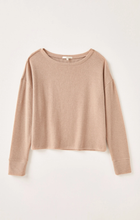 Load image into Gallery viewer, Zsupply Leila Ribbed Long Sleeve - Cocoa