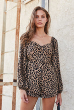 Load image into Gallery viewer, Act Wildly Leopard Print Romper