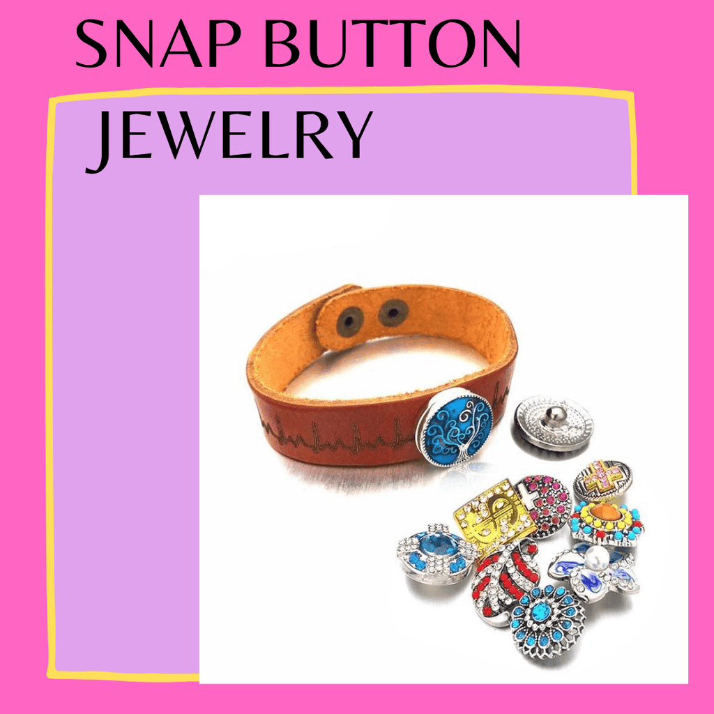 Snap Button Jewelry and Accessories