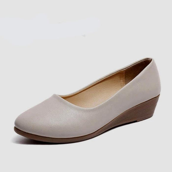Comfortable Women Low Wedges Fashion Shoes