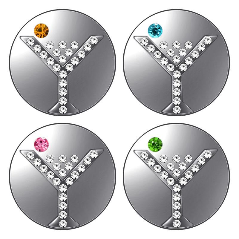 Round Crystal Cocktail 18MM Snap Buttons - nejomisfindings