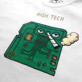 HIGH TECH - White