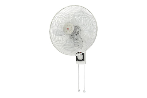 KDK KU308 (30cm/12″) White Wall Fan with Clear Plastic Blade