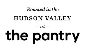 the pantry, specialty coffee roaster