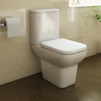 Urban Close Coupled Toilet & Cistern Inc Soft Close Seat - GWP Bathrooms