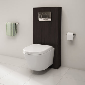 Pura Arco Wall-Hung Toilet With Soft Close Seat - GWP Bathrooms
