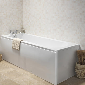 Curve 1500&1600&1700 X 700mm Single Ended Bath (Excludes Panels) - GWP Bathrooms