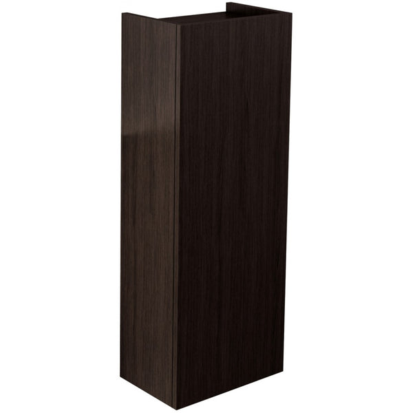 Echo Single Door Short Storage Unit (Soft Oak/Wenge/Whitegloss) - GWP Bathrooms