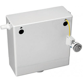 Concealed cable-operated cistern complete with dual flush button - GWP Bathrooms