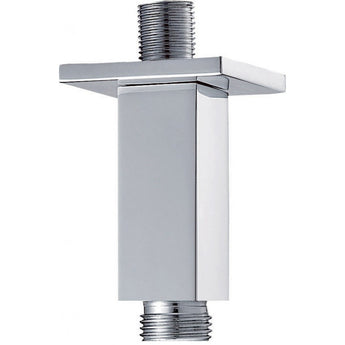Square Ceiling-Mounted Shower Arm 75mm - GWP Bathrooms