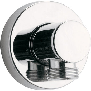 Round Brass Wall Outlet Elbow - GWP Bathrooms