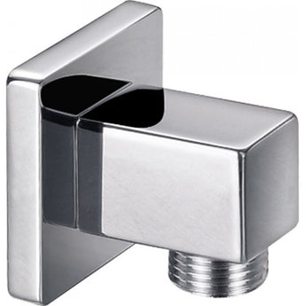 Square Brass Wall Outlet Elbow - GWP Bathrooms
