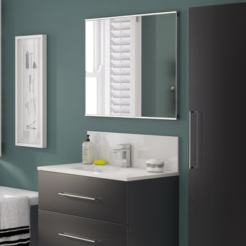 Luna 600mm X 660mm Led Mirror With Infrared Sensor - GWP Bathrooms