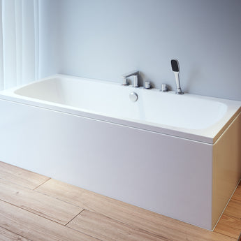 Platto Double Ended Bath 1675mm X 750mm - GWP Bathrooms