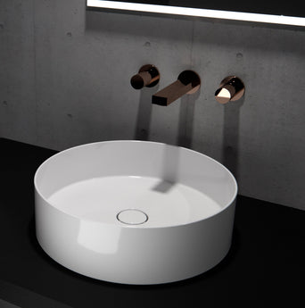 ICON Circle Countertop Washbasin - GWP Bathrooms