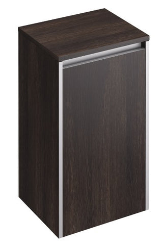 Xcite 600mm Side Storage Cabinet Dark Oak/Light Oak - GWP Bathrooms