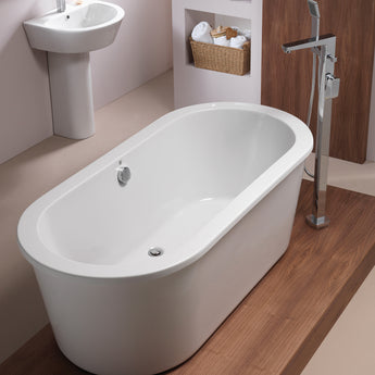 Pura Arco 1700mm X 790mm Freestanding Bath - GWP Bathrooms