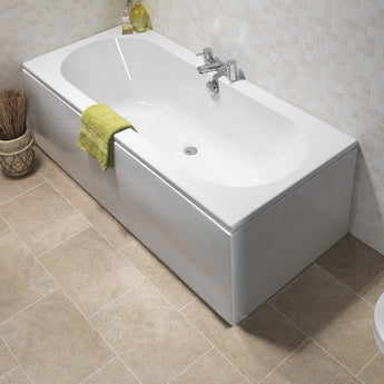 Curve Double Ended Bath 1700 X 700mm - GWP Bathrooms