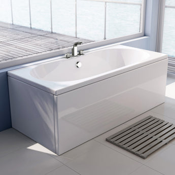 Wave Double Ended Bath 1700mm X 750mm - GWP Bathrooms