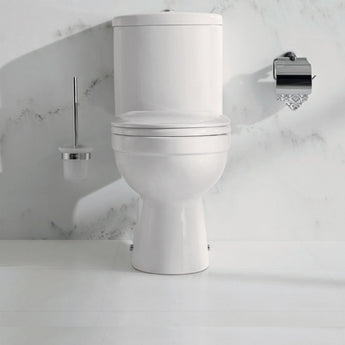 Ivo Close Coupled Toilet & Cistern Inc Soft Close Seat - GWP Bathrooms