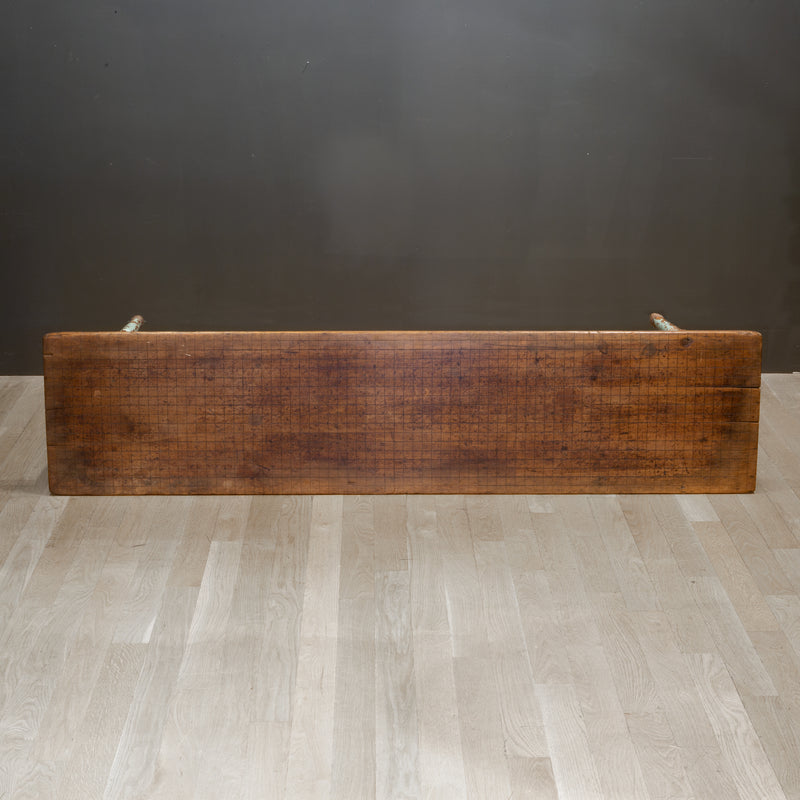 Mid 19th c. Primitive Bench c.1850s