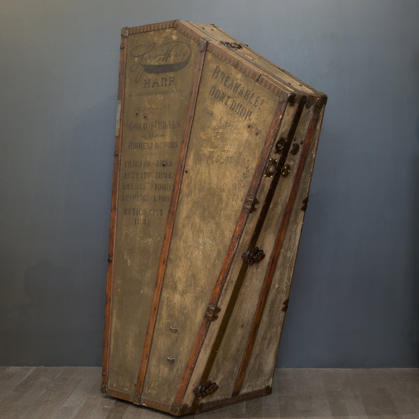 Antique 19th c. Harp Case c. 1890