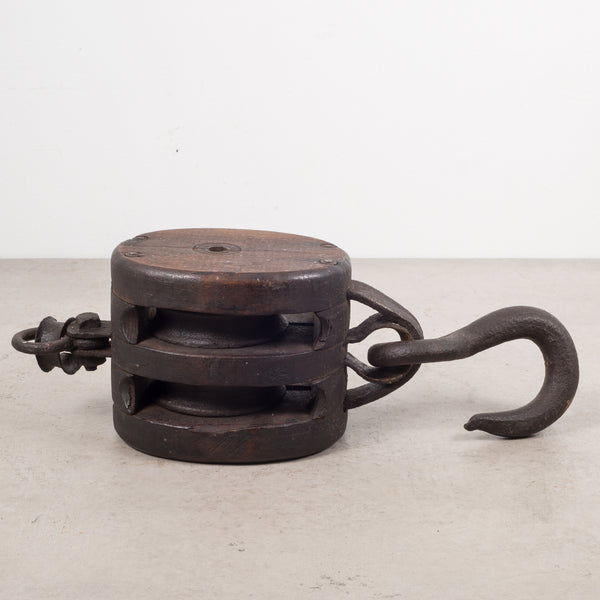 19th c. Block and Tackle c.1880s
